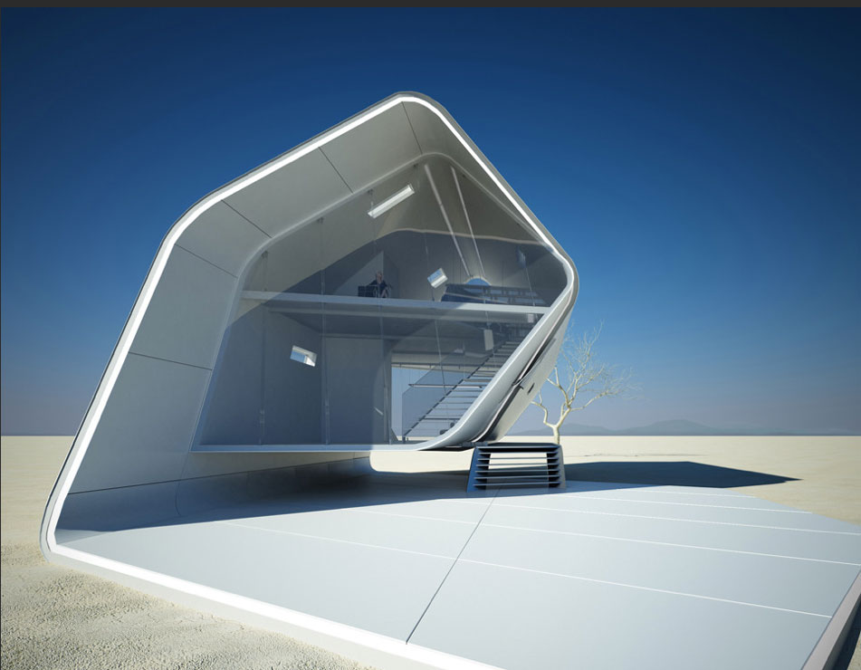 Futuristic Home Designs