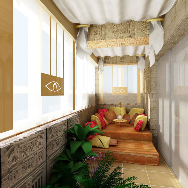10 creative balcony interior design building materials for Balcony design ideas malaysia