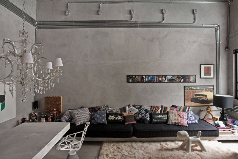 43c7f36fe05c Exposed Concrete Wall Ideas