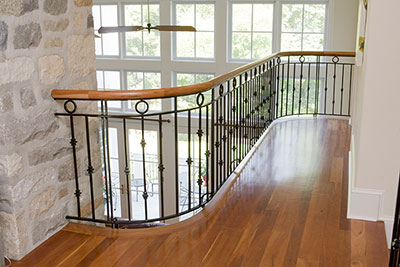 Internal Timber Rails and Balustrades