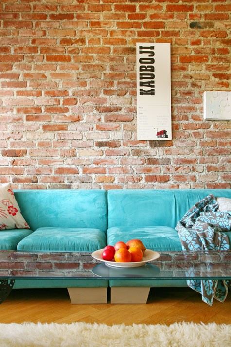 Exposed Brick Wall 9 8