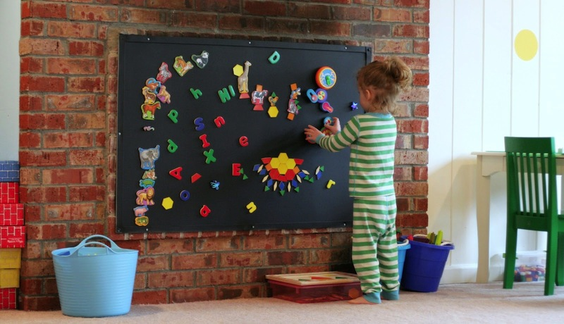 Magnetic paint ideas for your kids room building - Supplies needed to paint a room ...