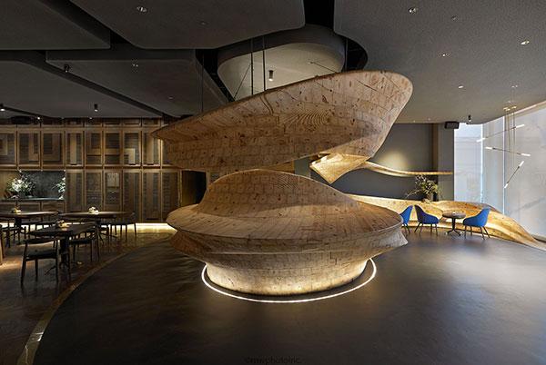 Raw Wood Interior Design Building Materials Malaysia