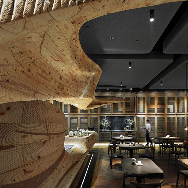 Raw Wood Interior Design Building Materials Malaysia