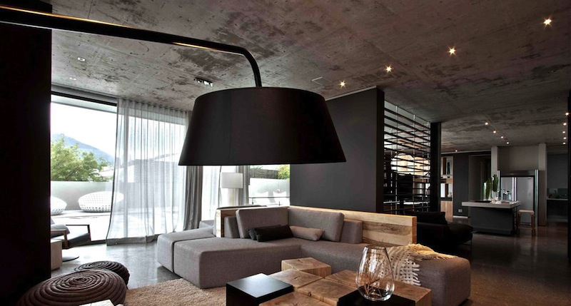 Exposed Concrete Ceilings Ideas Malaysia | Modern Ceiling ...