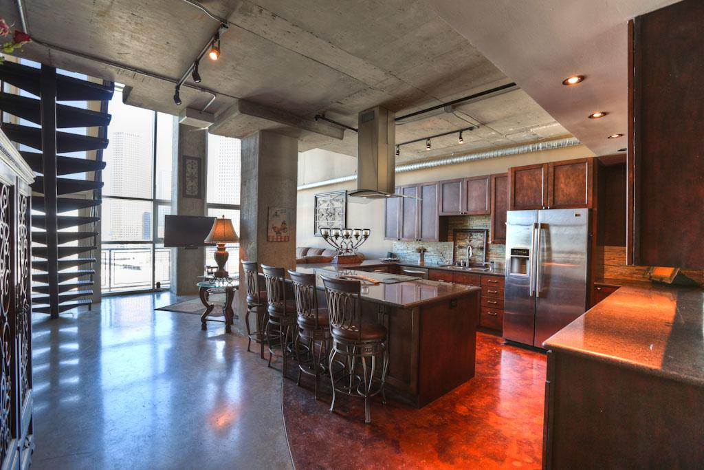 how to clean concrete ceiling