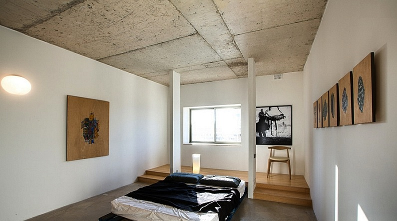 Exposed Concrete Ceilings Ideas Malaysia Modern Ceiling Design