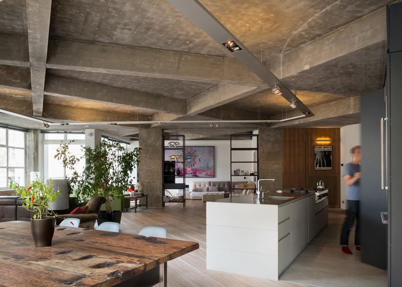 modern drop ceiling ideas - Exposed Concrete Ceilings Ideas