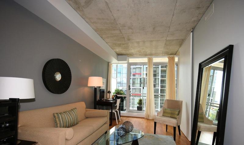 exposed concrete ceilings ideas