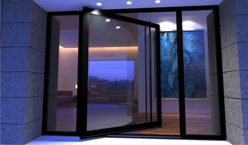 7 pivot door designs building materials malaysia for Pivot home designs