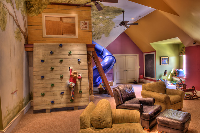 kids tree house interior