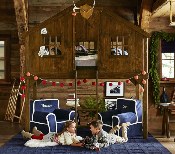 perfect kids tree house interior today the irish cottage treehouse - Kids Tree House Interior