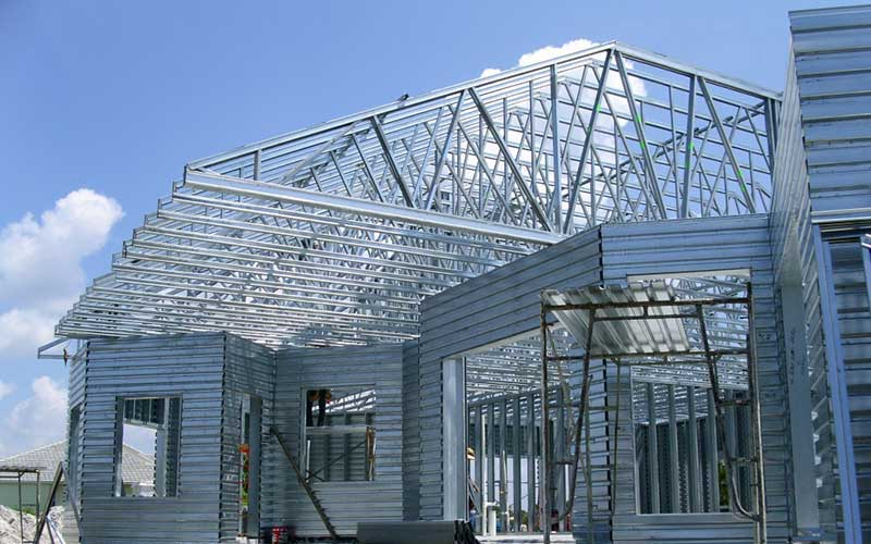 Exterior Roof Truss - Building Materials Malaysia