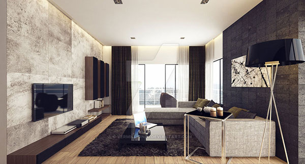 13 Modern Rustic Interior Designs Building Materials Online