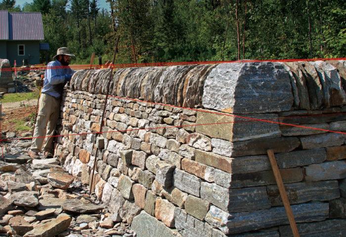 5 natural materials used as construction materials main stone wall