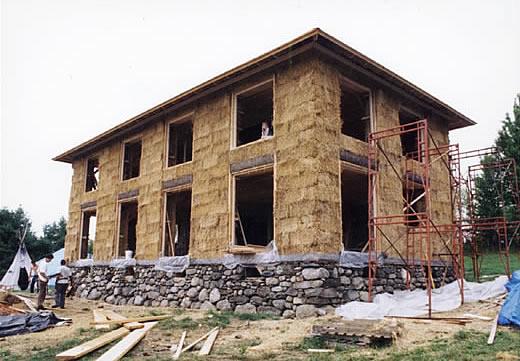 5 natural materials used as construction materials main straw bales